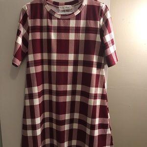 Boutique plaid tunic/dress
